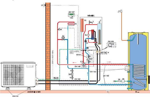 impianti climatizzati e ventilazione forzata, vrv, hitachi ...